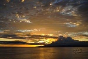 Sunset or Lanai