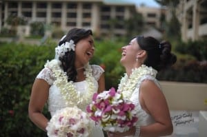 Wedding Day Laughter @ The Four Seasons Maui Resort & Spa