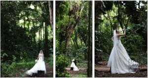 Bride & Groom in a Maui Jungle