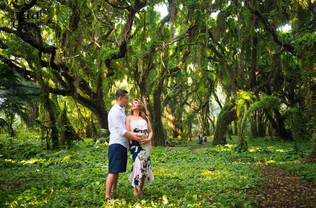 Maui Jungle Engagement