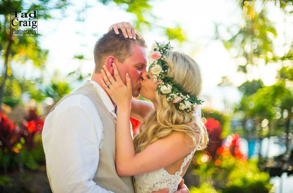 Love is all you need for a wedding on Maui