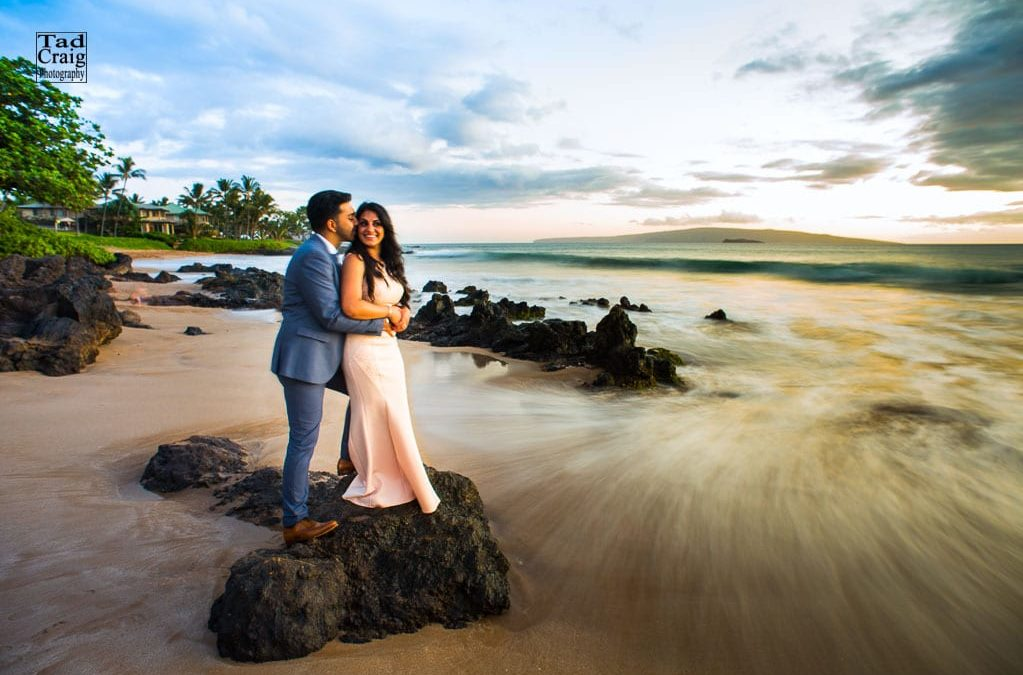 Surprise Engagement on a Maui Beach