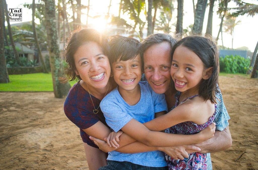 Happy Family on Maui