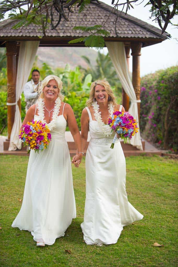Best Maui Photography Gay Wedding Lesbian Wedding