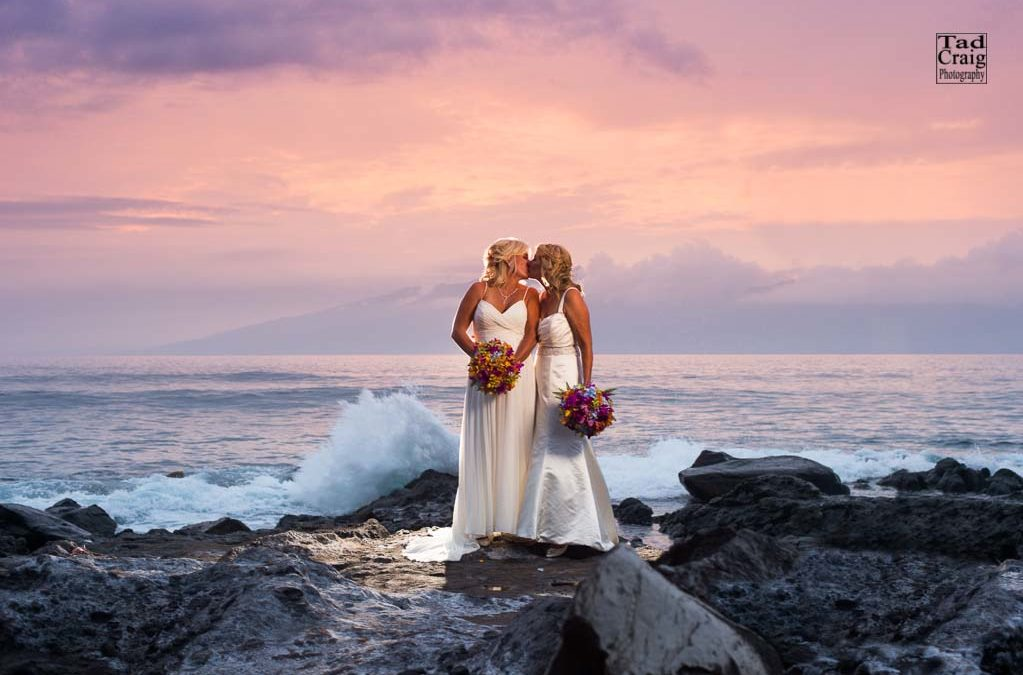 Amazing LGBT Wedding on Maui, Hawaii {Elopement on Maui 2018}